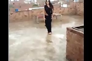 hot dance outdoor indian teen saree bird