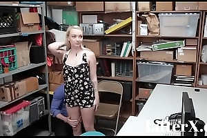 SUBMISSIVE Flaxen-haired TEEN FUCKED- LifterX.com