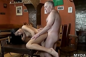 Old cut corners young wife anal bird Can you trust your gf leaving her