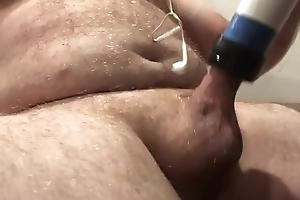 enjoying a vacuum blow job