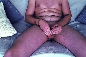 French Boy Cumshot on the Settee