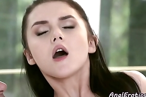 Euro beauty assfucked in unseal hole