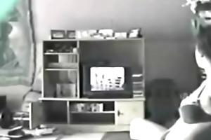 my sister 19  loves porn -  hidden camera