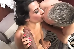 Herculean black cock chokes newly devoted to white women