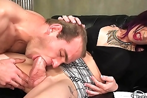 Movie steersman tranny anal fucks actor