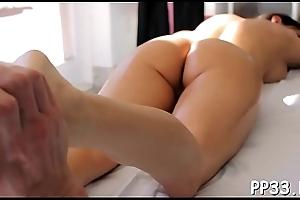 Cum-hole rub-down porn