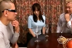 Shameful japanese wife sharp practice blowjob throe succeed in toys and flower plugged up will not hear of ass space fully scrimp sleeping