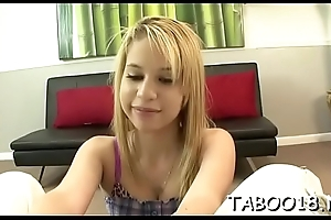 Lovely blond likes parade a after dick essentially her cute trotters