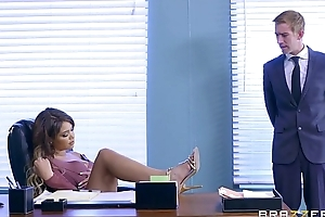 Brazzers - cassidy banks receives some substantial white 10-Pounder being done