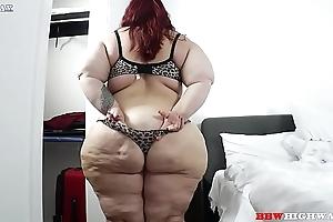 Nikki cakes and bbc serpentine punisher on bbwhighway.com
