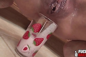 Kacey villainess makes an ass smoothie