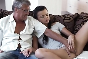DADDY4K. Pa takes part in self-governing sex almost beauty Erica Coal-black